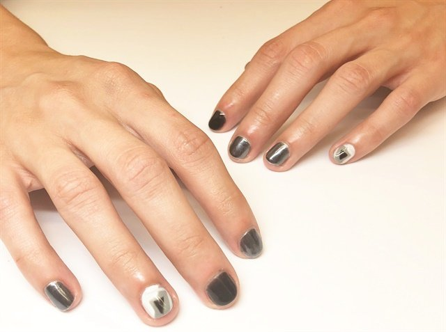 Nail art by OPI North America education manager Sigourney Nuñez.