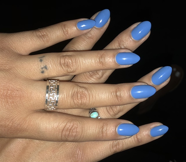 "<p><a href=""https://www.instagram.com/banicured_/"">@banicured_'s</a> blue nails were beautiful!</p>"