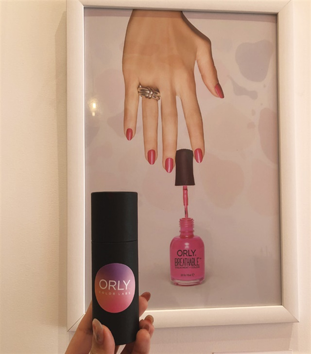 <p>My finished polish, in its new packaging</p>