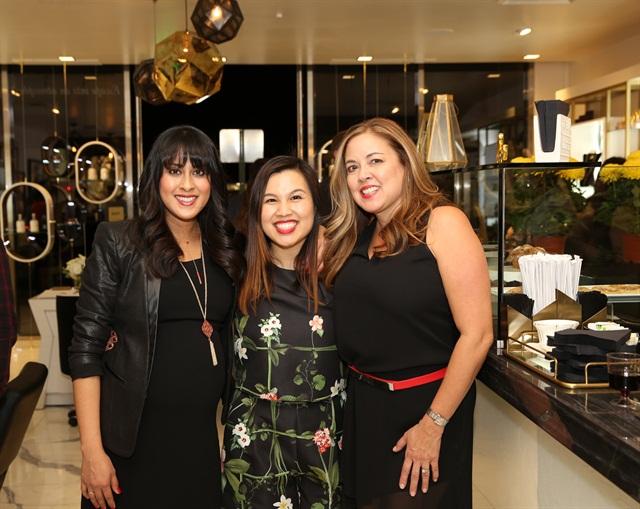 <p>Dionne Valles, Cherri Phan, and Cathy Freeborn</p>