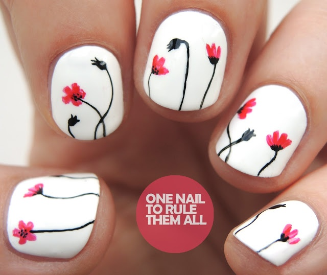 """<p>Via <a href=""""http://www.onenailtorulethemall.co.uk/2016/07/white-poppies-inspired-by-aneli.html"""">One Nail to Rule Them All</a></p>"""