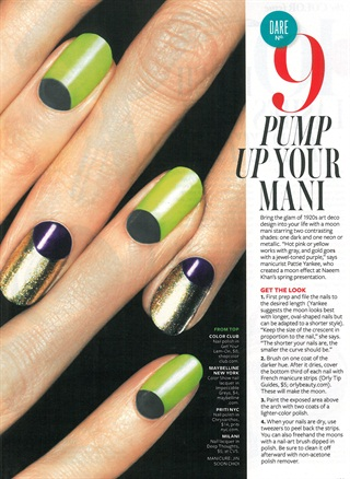 Nail Art Deco Style Nails Magazine