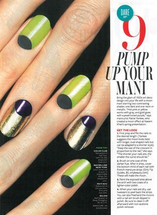 Nail art deco style nails magazine prinsesfo Images
