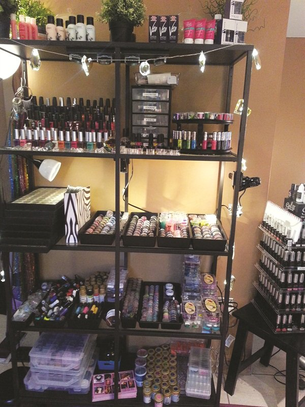 Steal these storage solutions style nails magazine for A and m salon equipment
