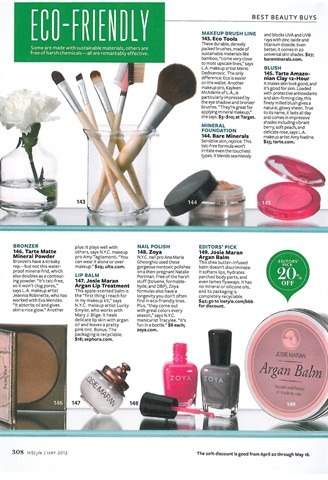 products list care nail