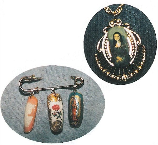 <p>Since Weldon's Mona Lisa pendant and nail art pin aroused so much interest at the NAILS Dearborn show, she says making nail art jewelry may be the start of a new endeavor for her.</p>