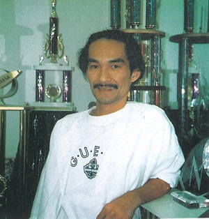 <p>Trang Nguyen is a veteran competitor, as his array of throphies attest, and he now focuses on encouraging nail technicians who work for him to compete. They've got a tough act to follow.</p>