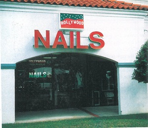 <p>This location of hollywood Nails may be in a sleepy Florida suburb, but owner Trang Nguyen says it's surprisingly busy. His conservative business clients enjoy the easy access and clean, uncluttered layout of Nguyen's salon. And they don't mind the fact that their nails are being done by a national champion, either.</p>