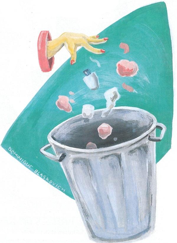 Illustration by Dominique Blaskovich