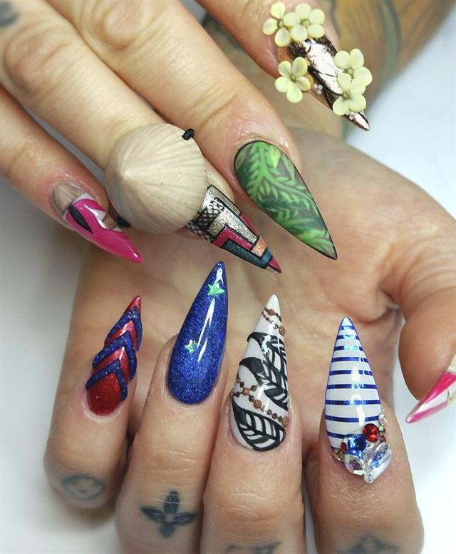 10 Times #NTNASarah Slayed Us With Her Nail Art - - NAILS Magazine
