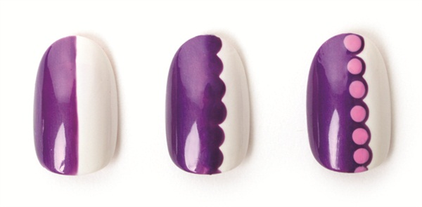 China Glaze Simple Scallops Style Nails Magazine