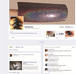 <p>Nail Nation 3000's Facebook page is another way for nail techs to reach Chheo-Shen, plus to connect with other fans.</p>