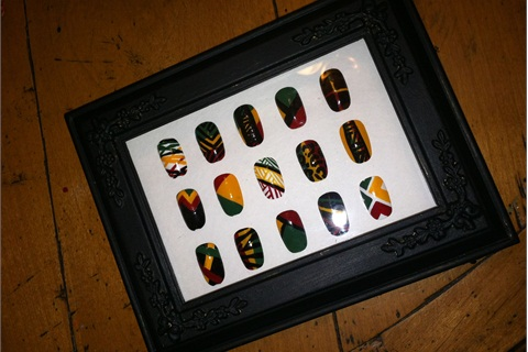How To Make A Shadowbox To Display Your Nail Art Style Nails