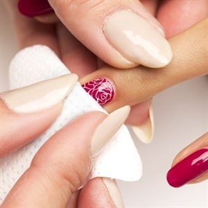 How to valentines day floral nail art style nails magazine how to valentines day floral nail art prinsesfo Images