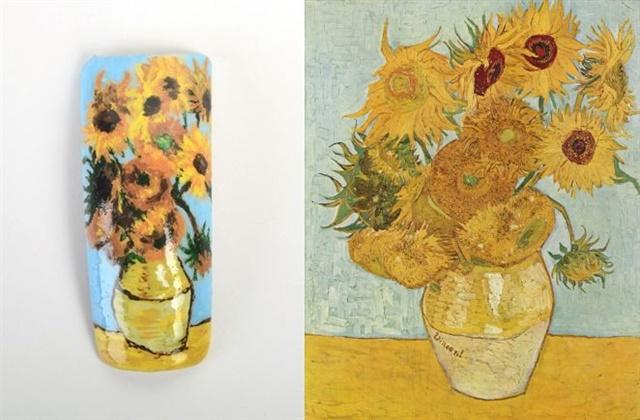 Nail by Jodie Rahaley, Saylorsburg, Pa. Art displayed at Neue Pinakothek.