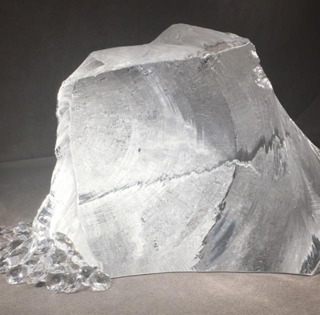 <p>Uncut crystal</p>