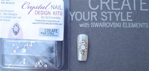 Swarovski Crystal Nail Design Kits Step By Step Style Nails Magazine
