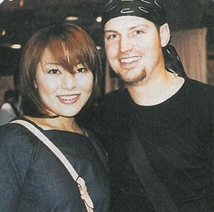 """<p>This year's #1 nail competitor is Eriko Kurossaki (left), here with her friend and """"rival"""" Tom Bachik.</p>"""