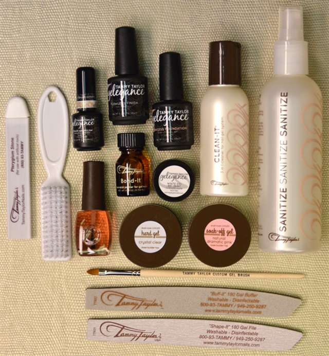 Tammy Taylor Nails Deluxe Professional Gel Kit.