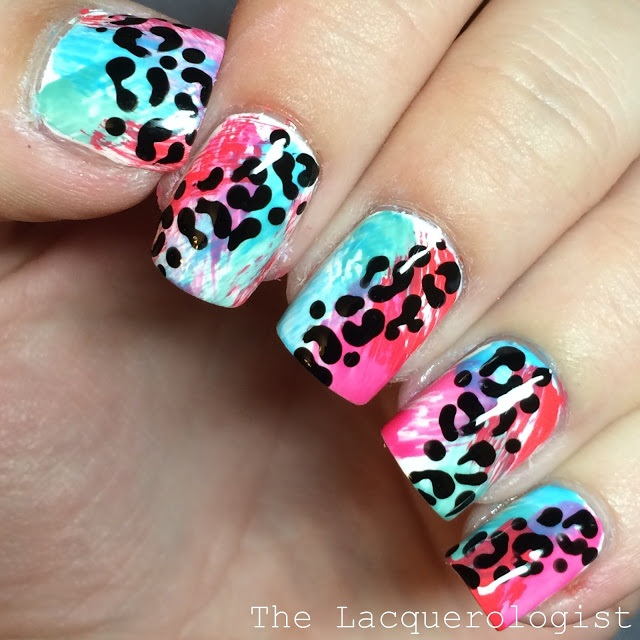 "<p>Image via <a href=""http://www.lacquerologist.com/2015/06/dry-brush-leopard-with-sally-hansen.html"">The Lacquerologist</a></p>"