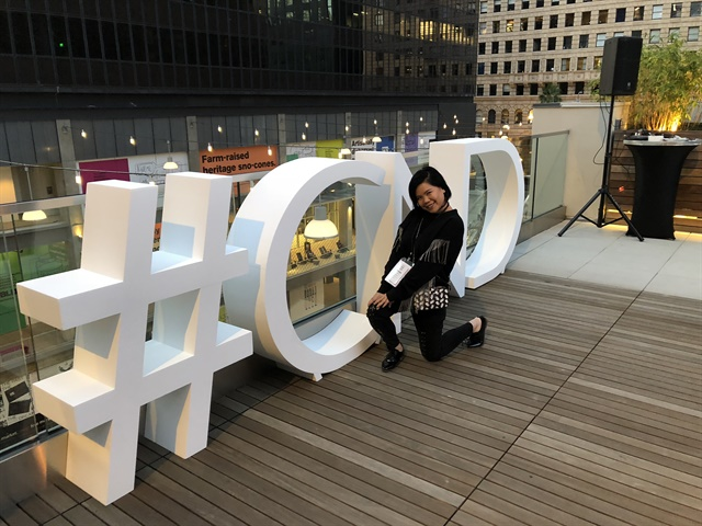 <p>CND Color Ambassador Winnie Huang</p>