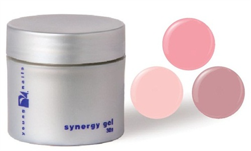 Young Nails Recently Released Three New Tinted Sculpted Gels For The Synergy Line A Collection Of Hard All Provide Just Enough Coverage To