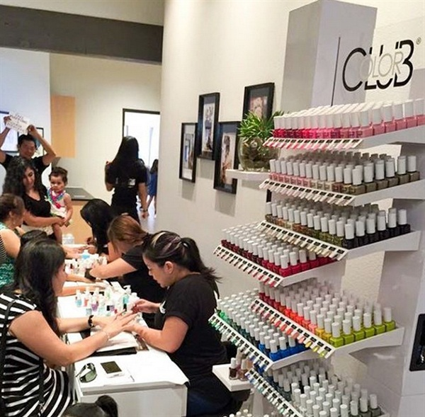 Mani Monday Advance Beauty College Laguna Hills Grand Opening