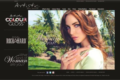 Artistic Nail Design Website Gets A Makeover Business Nails Magazine