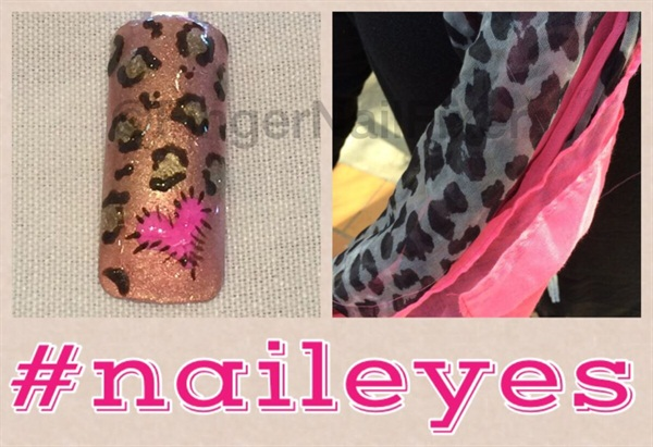 <p>This is one of the #naileyes designs the Brisbane class and I created together. </p>