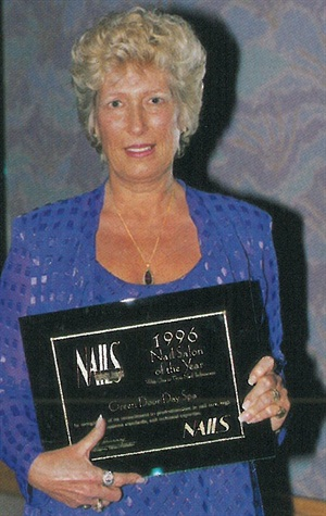 <p>Ruth Gurry took the first plane out to Las Vegas when she was named a finalist. Her eagerness was rewarded wtih a Nail Salon of the Year Award.</p>