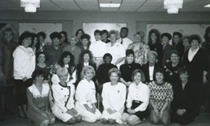 <p>1991: A meeting of company educators.</p>