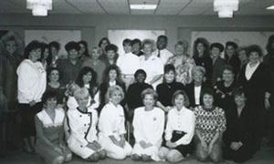 <p>1991: A meeting of company educators.</p>