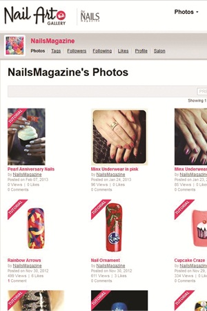 Hit Submit and your tutorial will be posted. A pink banner is used to specify Tutorial pictures within a gallery.
