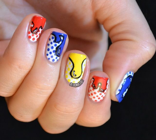 Celebrate Jackson Pollocks Birthday With Drip Nail Art Nails
