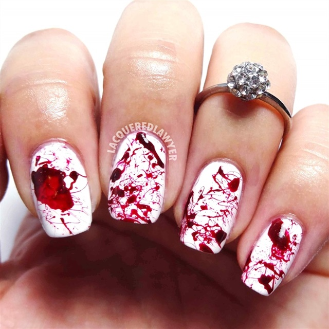 "<p><a href=""http://nailartgallery.nailsmag.com/lacqueredlawyer"">Via Nail Art Gallery</a></p>"