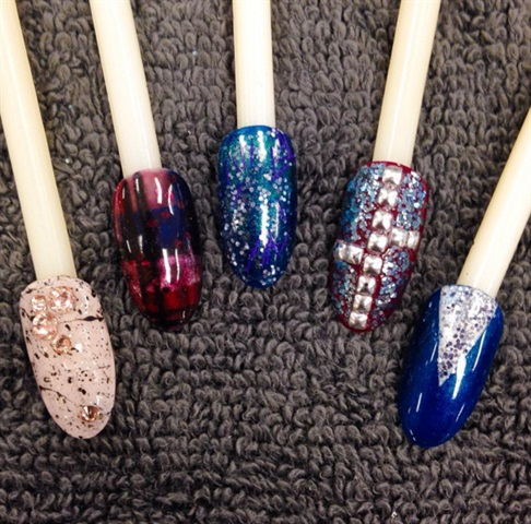 Fall 2015 nail art looks by CND.