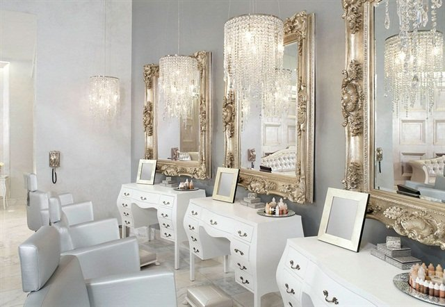 White-on-White] Salon Decor We Love - - NAILS Magazine