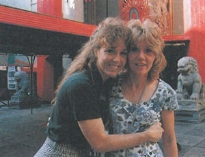 <p>Debra Schoaff's (right) first California experience worked out exactly how she planned it, from seeing the Hollywood sign to meeting Mickey Mouse at Disneyland.</p>