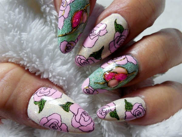 Day 126 Stones And Stamps Nail Art Nails Magazine