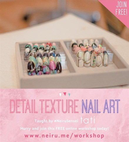Learn japanese nail art for free with neiru nails magazine nail techs get to learn new techniques as well as being able to apply their own creative flare which is what nail art is all about prinsesfo Image collections