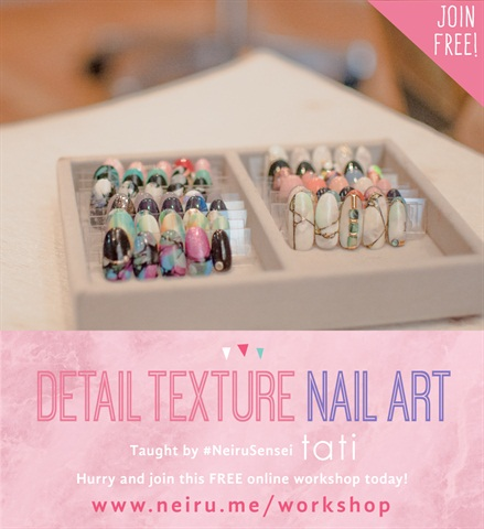 Learn Japanese Nail Art For Free with Neiru - - NAILS Magazine