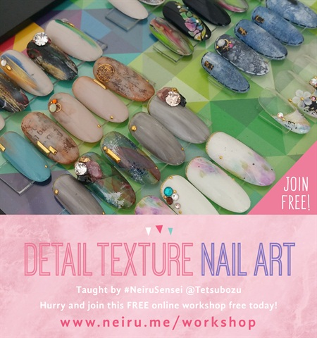 Learn Japanese Nail Art For Free With Neiru Nails Magazine