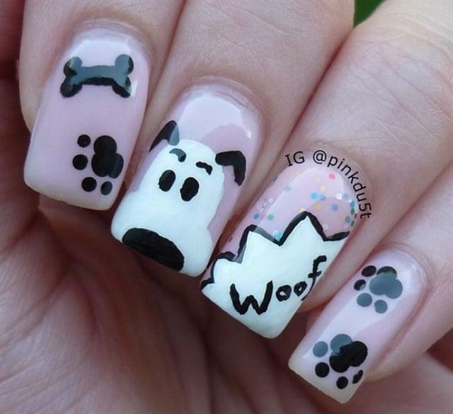 <p>Nails by @pinkdu5t</p>