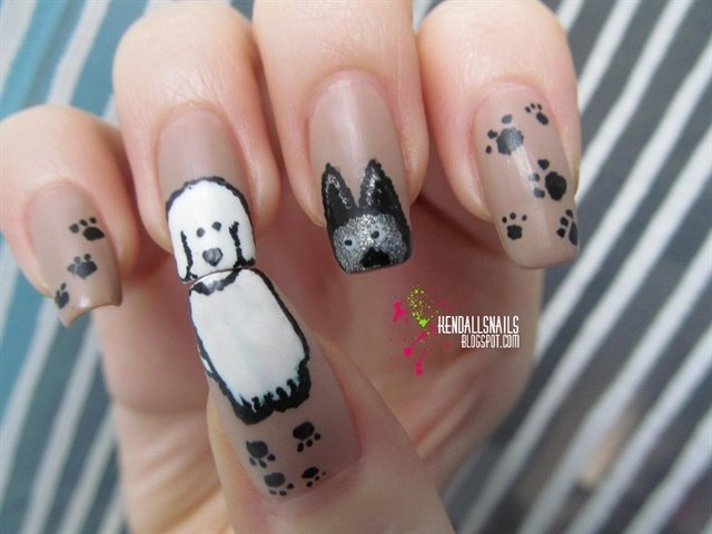 Dog Nails Manicure