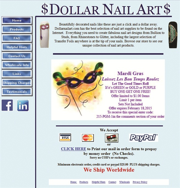 Playing Favorites Readers Favorite Websites Business Nails
