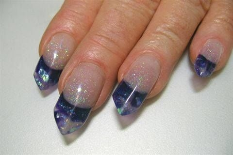 Edge Nails Are A Cross Between Stiletto And Square Where The Straight Free Of Is Angled Slightly To Make Tip Similar Rooftop
