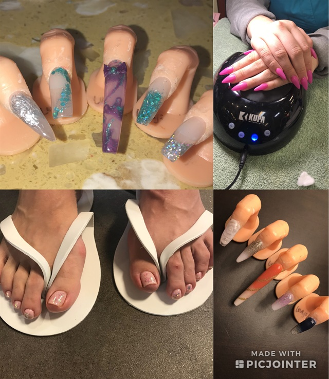 <p>I wrapped up schooling with a pedicure and nail art, of course.</p>