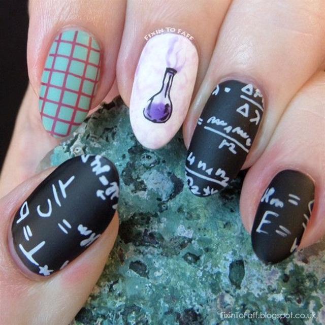 Celebrate Albert Einsteins Birthday With Genius Nail Art Nails