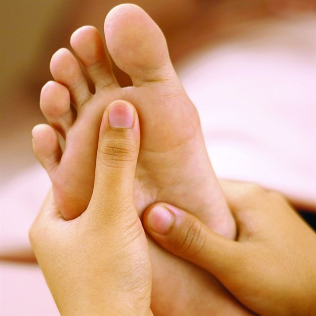 Reflexology Healing With Your Touch Technique Nails Magazine