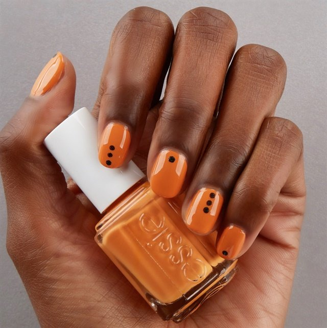 3 Easy Halloween Nail Art Tutorials From Essie - Style ...